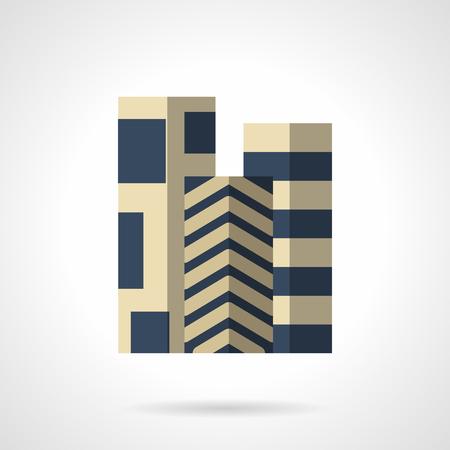3 つの異なる青い色のパターンでフロア カーペットのロールします。床、リノリウム、装飾や建設資材品質改装工事のため。フラット カラー スタイ