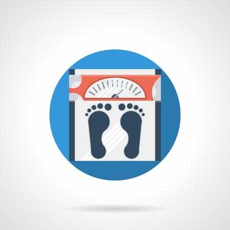 fitness equipment: Floor scales icon