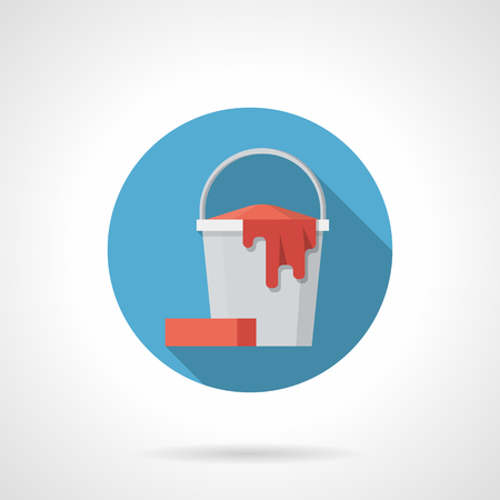 Mopping bucket icon