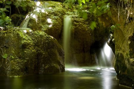 The Nahal Amud, also known as the Wadi Amud, is a stream in the Upper Galilee that spills into the Sea of Galilee. The streams source, Ramat Dalton, is located 800 meters above sea level
