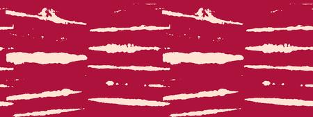 Japanese Kimono Vector Seamless Pattern, Female Tie Dye Organic Texture. Asian Fashion Fabric Watercolour Batik Print, Wabi Sabi Ikat Geo Texture. Hand Painted Shibori Geometric Seamless Design Illustration