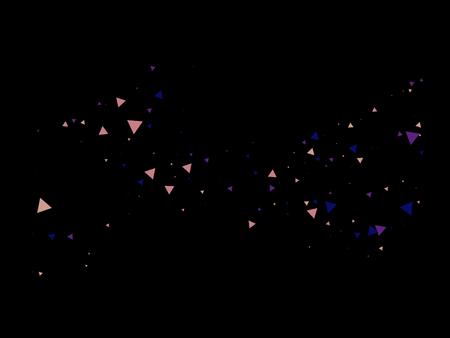 Bang, Blast, Moved Particles, Vector Explosion Burst Border. Broken Glass Shattered Memphis Grunge Fragmentation. Stars, Sparkles, Magic Cosmic Frame, Vortex, Shattered Fragments. Textured Memphis.