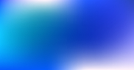 Blue Purple Gradient Dreamy Vibrant Vector Background. Neon Color Overlay, Sunrise, Sunset, Sky, Water Design Element. Luxury Trendy Holograph Defocused Texture. Fluid Lights Minimal Digital Gradient