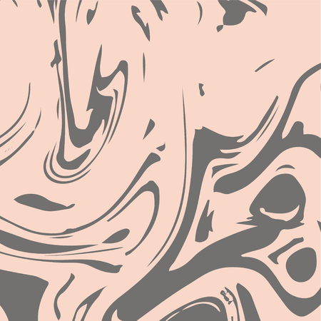 Marble Background. Futuristic Modern Suminagashi Painting Print. Beige Brown, Grey Liquid Acrylic Design. Liquid Japanese Suminagashi Marble Background. Glamour VIP Rich Design. Elegant Decoration.