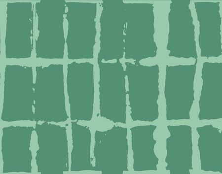 Japanese Kimono Vector Seamless Pattern, Artistic Tie Dye Geisha Ornament. Wabi Sabi Ikat Geo Pattern, Asian Kimono Fashion Watercolor Batik Design. Creative Shibori Geometric Seamless Summer Pattern
