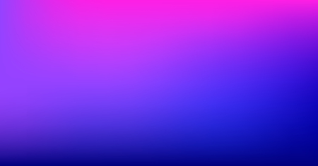 Vibrant Dreamy Purple Blue Gradient Vector Background. Sunrise, Sunset, Sky, Water Color Overlay Neon Design Element. Luxury Dreamy Holograph Unfocussed Texture. Digital Minimal Tech Gradient Paper
