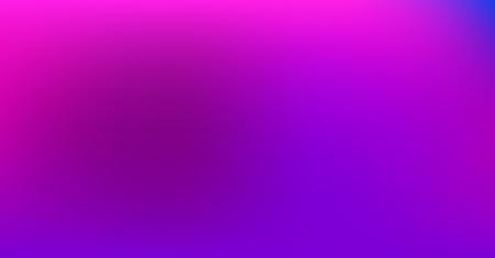 Purple Blue Gradient Vibrant Dreamy Vector Background. Neon Color Overlay, Sunrise, Sunset, Sky, Water Design Element. Dreamy Unfocussed Holograph Luxury Texture. Fluid Lights Minimal Digital Gradient