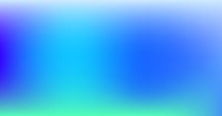 Dreamy Vibrant Blue Purple Gradient Vector Background. Sunrise, Sunset, Color Overlay, Sky, Water Neon Design Element. Luxury Trendy Holograph Defocused Texture. Minimal Paper Tech Digital Gradient