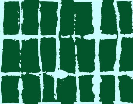 Japanese Kimono Vector Seamless Pattern, Trendy Tie Dye Organic Texture. Wabi Sabi Ikat Geo Texture, Asian Kimono Textile Watercolour Batik Prints. Textured Shibori Geometric Seamless Summer Pattern