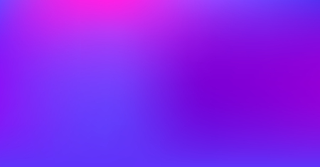 Blue Purple Dreamy Vibrant Gradient Vector Background. Sunrise, Sunset, Color Overlay, Sky, Water Neon Design Element. Trendy Unfocussed Luxury Holograph Texture. Digital Minimal Tech Gradient Paper  Ilustracja