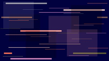 Fast Racing Street Lights, Speed Lines, Neon IT, Hi Tech Vector Pattern. Internet Technology Communication Stripes Texture. Night City, Moving Car Lights, TV, Neon IT Abstract Hi Tech Background