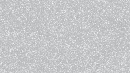 Falling Snow on Gray, Vector. Winter Holidays Storm Background. Falling Snowflakes, Night Sky. Advertising Frame, New Year, Christmas Weather. Elegant Scatter, Grunge White Glitter. Cold Falling Snow