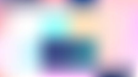 Unfocused Mesh Vector Background Hologram Neon Bright Teal. Glitch Pink, Purple, Turquoise Dreamy Tender Lights Girlie Background. Tech Rainbow Fairytale Iridescent Pearlescent Holographic Paper