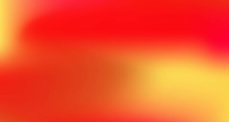 Red Yellow Pink Tropical Gradient Background. Liquid Neon Bright Trendy Wallpaper. Elegant Colorful Vibrant Unfocused Horizontal Banner. Pearlescent Noble Vector Color Overlay. 80s Glam Gradient Paper
