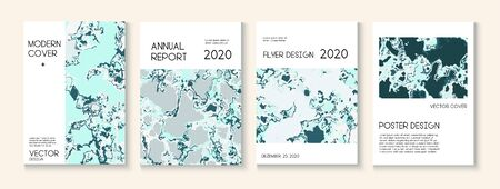 Topographic Fluid Liquid Paint Vector Cover. Water Ecology Blue Winter Report. Music Poster, Corporate Identity Template. Hipster Earth Day Ecology Poster. Topographic Fluid Vector Cover
