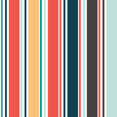 Vertical Stripes Seamless Pattern. Summer, Spring Seamless Stripes Texture Autumn Winter Business Suit Vertical Line Pattern. Cool Lines Endless Design. Male, Female, Childrens Modern Fashion Print. Illusztráció