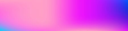 Purple, Pink, Turquoise, Blue Gradient Shiny Vector Background. Wide Horizontal Long Gradient Banner. Iridescent Gradient Overlay Vibrant Unfocused Cover.  Liquid Neon Bright Trendy Wallpaper.