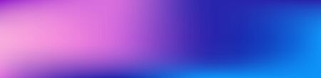 Purple, Pink, Turquoise, Blue Gradient Shiny Vector Background. Wide Horizontal Long Gradient Banner. Dreamy Neon Bright Trendy Wallpaper. Iridescent Gradient Overlay Vibrant Unfocused Cover.