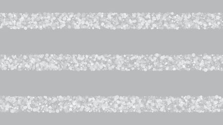 Realistic Snow, Gray Winter. Falling Snowflakes, Night Sky. Winter Holidays Storm Background. Advertising Frame, New Year, Christmas Weather. Elegant Scatter, Grunge White Glitter. Cold Realistic Snow