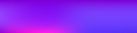 Purple, Pink, Turquoise, Blue Gradient Shiny Vector Background. Fluid Neon Bright Trendy Wallpaper. Wide Horizontal Long Gradient Banner. Fluorescent Gradient Overlay Vibrant Unfocused Cover.
