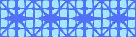 Japanese Tie Dye Seamless Pattern. Glamour Kimono Fabric. Luxurious Japanese Clothes Print. Bohemian Geometric Asian Tie Dye Texture. Organic Shibori Seamless Pattern. Soft Shell Arc Design