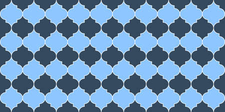 Turkish Mosque Window Motif. Seamless Moroccan Texture Eid Mubarak Islamic Background. Seamless Moroccan Mosaic Pattern. Ramadan Kareem Muslim Illustration. Traditional Ramadan Mosque Golden Tile.