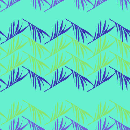 Hipster Tropical Vector Seamless Pattern. Monstera Feather Banana Leaves Dandelion Tropical Seamless Pattern. Drawn Floral Background. Elegant Male Shirt Female Dress Texture. Cool Summer Textile.