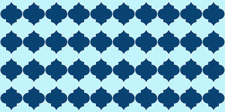 Seamless Moroccan Mosaic Ornament. Ramadan Kareem Islamic Background. Seamless Moroccan Pattern Ramadan Traditional Golden Mosque Motif. Persian Mosque Window Tile. Eid Mubarak Islam Decoration.