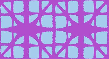 Japanese Tie Dye Seamless Pattern. Premium Japanese Clothes Texture. Bohemian Kimono Fabric. Geometric Bohemian Asian Tie Dye Design. Geo Curve Shell Print Vintage Shibori Seamless Pattern. Illustration