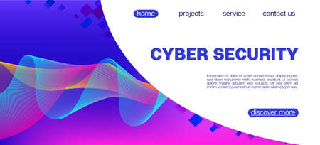 Falling Particles Distressed Purple Vector. Data Analytics Cool Banner. 3D Flow Shapes Poster. Pink Blue Purple Futuristic Gradient Overlay. Big Data Neon Background. Cyber Geometric Background.