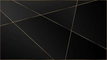 Black Luxury Triangular Pattern. Silver Rich VIP Geometric Celebration Wallpaper. Elegant Dark Platinum Chic Shapes Frame Crystal Triangle Black Luxury Background. Gold Lines Polygon Premium Border. 矢量图像