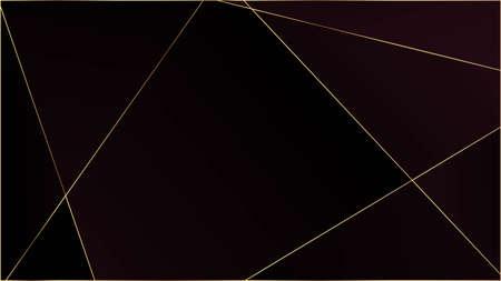 Red Premium Triangular Pattern. Elegant Dark Platinum Chic Shapes Poster Gold Lines Polygon Luxury Frame. Crystal Triangle Red Premium Wallpaper. Silver Rich VIP Geometric Celebration Background.