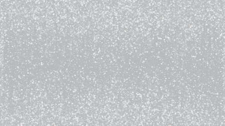 Realistic Snow, Gray Winter. Winter Holidays Storm Background. Falling Snowflakes, Night Sky. Advertising Frame, New Year, Christmas Weather. Elegant Scatter, Grunge White Glitter. Cold Realistic Snow
