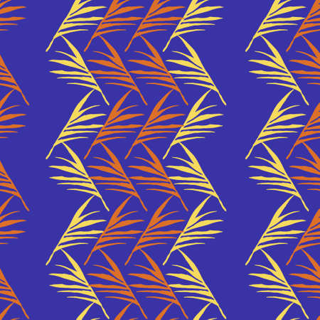 Trendy Tropical Vector Seamless Pattern.