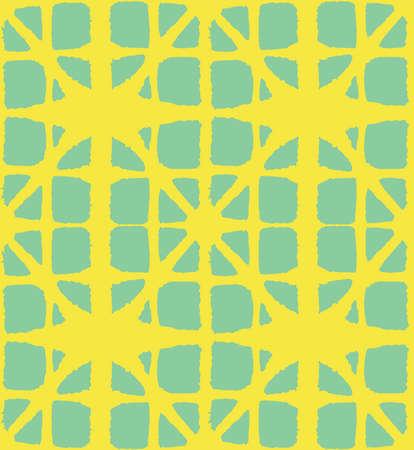 Japanese Tie Dye Seamless Pattern. Bohemian Geometric Asian Tie Dye Design. Rich VIP Japanese Clothes Texture. Retro Shibori Seamless Pattern. Boho Shape Arc Pattern Glamour Kimono Fabric. Ilustração