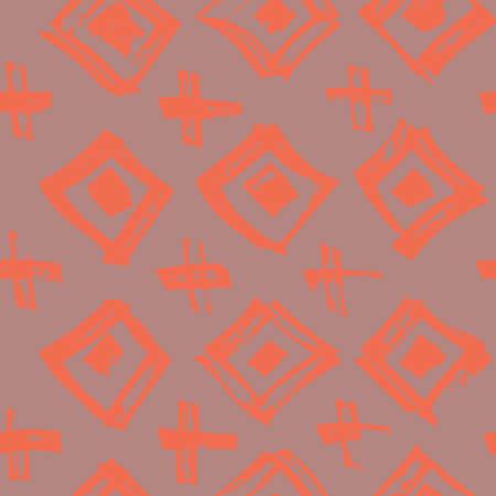 Tie Dye Japanese Geometric Modern Seamless Pattern.