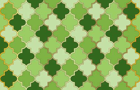 Tender Moroccan Seamless Pattern. 1001 Night Arabesque. Traditional Islamic Lantern Ornament. Mosque Window Pattern. Ramadan Kareem Elegant Motif. Arabic Mubarak Mosaic. Moroccan Seamless Pattern. Vetores