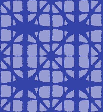Japanese Tie Dye Seamless Pattern. Premium Japanese Clothes Print. Bohemian Kimono Textile. Geo Arc Curve Design Organic Shibori Seamless Pattern. Bohemian Geometric Asian Tie Dye Pattern.