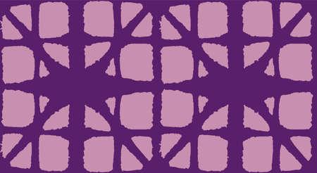 Japanese Tie Dye Seamless Pattern. Bohemian Geometric Asian Tie Dye Texture. Bohemian Kimono Textile. Luxurious Japanese Clothes Print. Vintage Shibori Seamless Pattern. Soft Arc Shape Pattern 向量圖像
