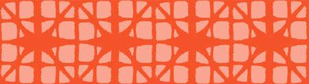 Japanese Tie Dye Seamless Pattern. Bohemian Kimono Textile. Retro Shibori Seamless Pattern. Soft Curve Shape Pattern Bohemian Geometric Asian Tie Dye Design. Luxurious Japanese Clothes Print.