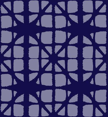 Japanese Tie Dye Seamless Pattern. Geometric Bohemian Asian Tie Dye Texture. Premium Japanese Clothes Pattern. Organic Shibori Seamless Pattern. Glamour Kimono Fabric. Soft Shell Arc Print