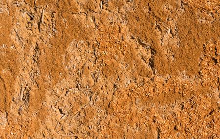 earthen: Earthen wall Stock Photo