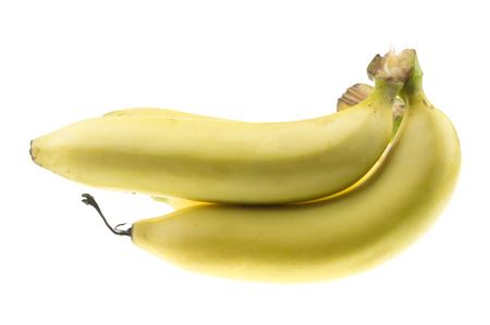 fad: Cavendish Banana Isolate on white background