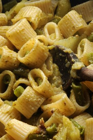 Genoese pesto with string beans and potatoes