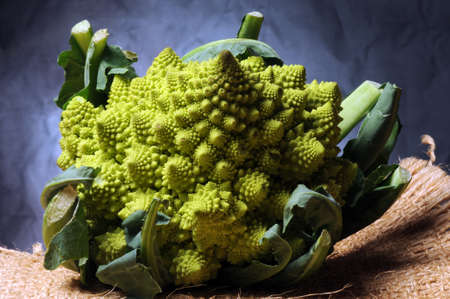 Close up on ripe romanesco cabbage Standard-Bild