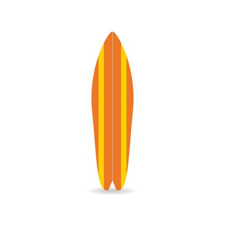 古典的なサーフボード。カラフルな魚盤シャドウ、サーファーの機器です。T シャツ、プリント、ポスター、バナー、サーファーの服のためのベクト