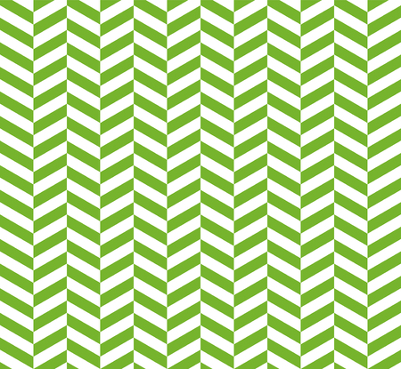 Seamless green herringbone pattern. Vector Illustration