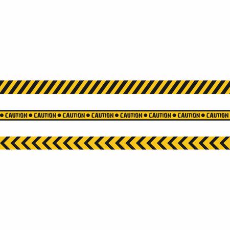 hazard stripes: Warning tapes. Seamless hazard stripes texture. Vector