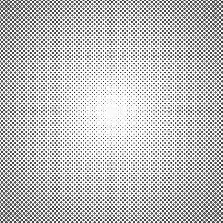 Halftone dots. Monochrome vector texture background for prepress, DTP, comics, poster. Pop art style template. Vector