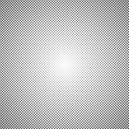 Halftone dots. Monochrome vector texture background for prepress, DTP, comics, poster. Pop art style template. Vector